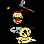 Bataille d'oeufs