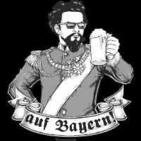 Design 2016 - auf Bayern - RAHMENLOS tshirt Geschenk lustig