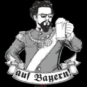 Design 2016 - auf Bayern - RAHMENLOS tshirt