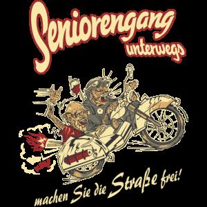 Design 2016 - Seniorengang - RAHMENLOS tshirt