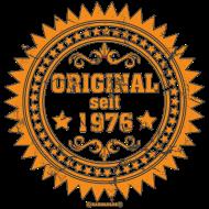 Jahrgang 1970 Geburtstagsshirt: Used look Original seit - 1976 - RAHMENLOS Vintage Geschenk