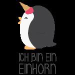 Einhorn Pinguin