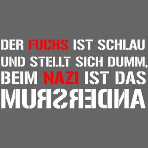 Fuchs und Nazi - Antifa