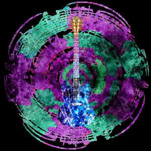 Music Circle mit Gitarre