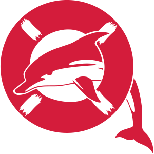 Delphin lifebelt Rettungsring 1-color