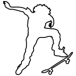 skateroutline