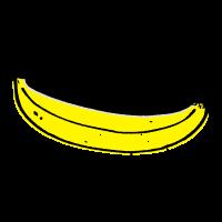 Coole Retro  Banana smile sprüche