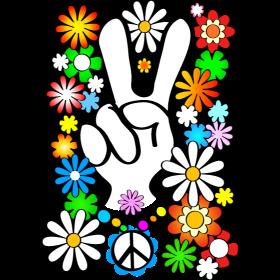 Flower Power & Peace (big)