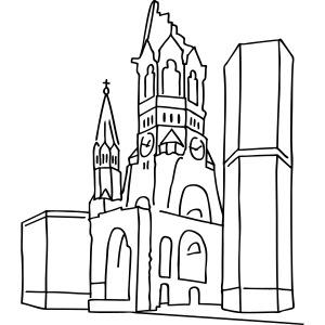 Chiesa commemorativa dell'Imperatore Guglielmo