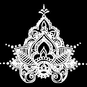 Mehndi Lotus