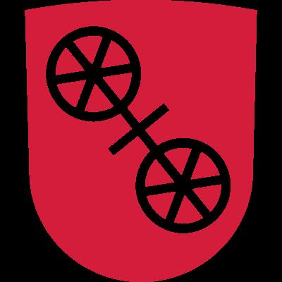 Mainz - Mainz - Wappen,Stadt,Rheinland-pfalz,Rhein-Main,Mainz
