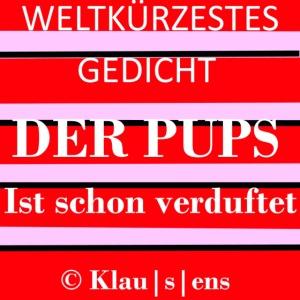 Gedicht DER PUPS