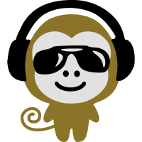 monkey earphones glasses
