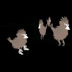 Drei Spatzen