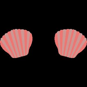 Roter Meerjungfrauen Bikini