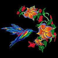 Kolibri abstrakt