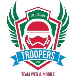 Webstorm Troopers dreifarbig