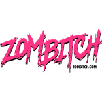 Zombitch logo black