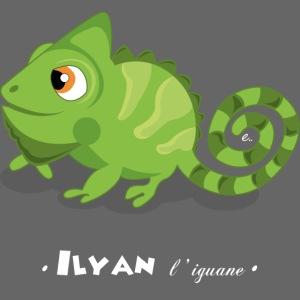 Ilyan l'iguane
