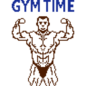 gym time pixelart