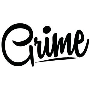 Grime Apparel Basic Grey Hoodie.