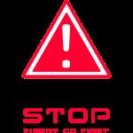 Stop insert cd first