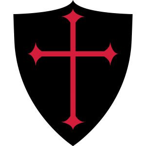 Schild 4 rot