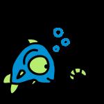 Fisch Wurm 3