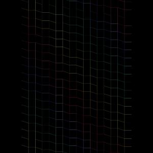 zigzag  Karos in NEON