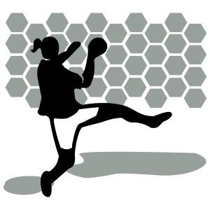 Handball Torschützin