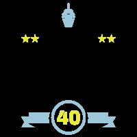 Endlich 40 Geburtstag Vierzig