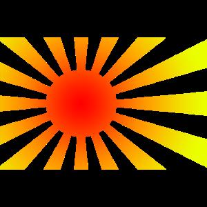 Sonne Sonnenstrahlen Sonnenschein gelb
