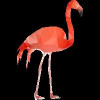 Flamingo Low Poly