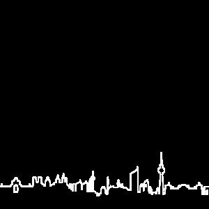 Berlin Lissabon Leipzig Skyline