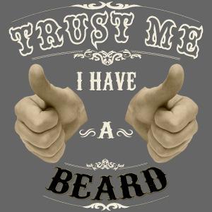 Confía en mi tengo barba