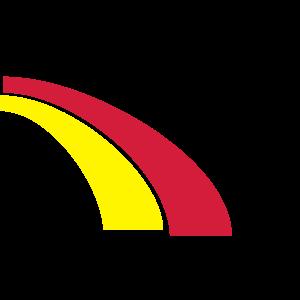 Deutschland Fußball Sport Regenbogen Streifen