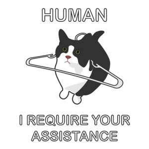 Human, I require your assitance!