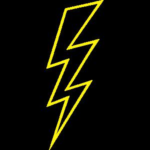 Blitz Zeichen Flash Hochspannung High Voltage