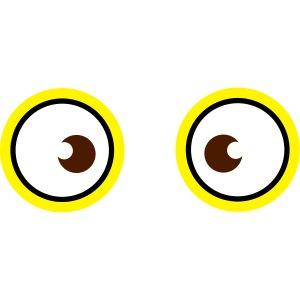 yeux jaune