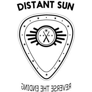 Distant Sun - Mens Slim Fit Black Logo