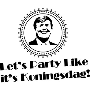Let's party like it's Koningsdag (retro)