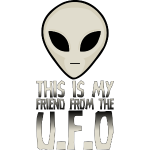 My Friend From The UFO