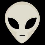 UFO Alien Head
