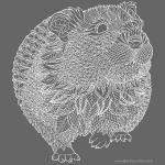 Hamster - white lines