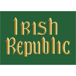 Original Irish Republic Flag