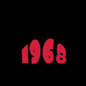 Geburtstags-Shirt   1968 legenden