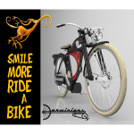 001 Smile more ride a bike