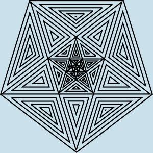 Pentagramm einfach