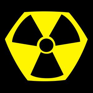 Super Radioactive Radioaktiv Nuke Comic Symbol