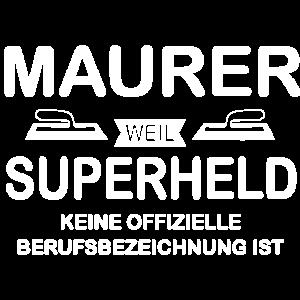 Maurer Superheld